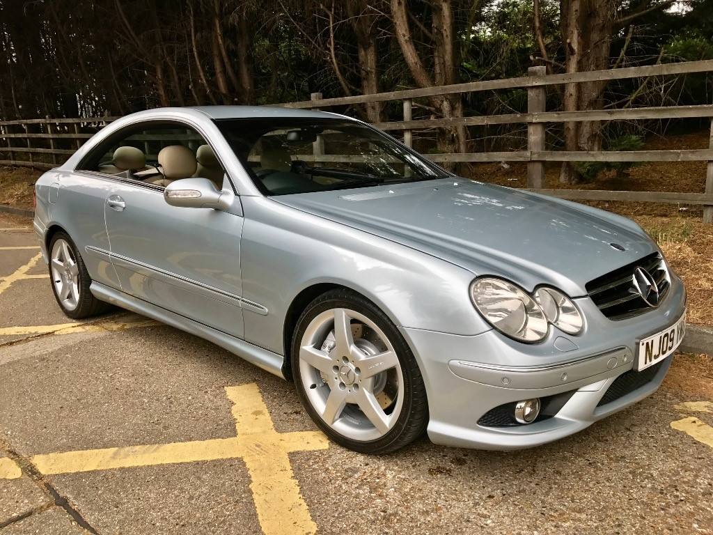 used tellurite silver mercedes clk320 cdi for sale essex. Black Bedroom Furniture Sets. Home Design Ideas