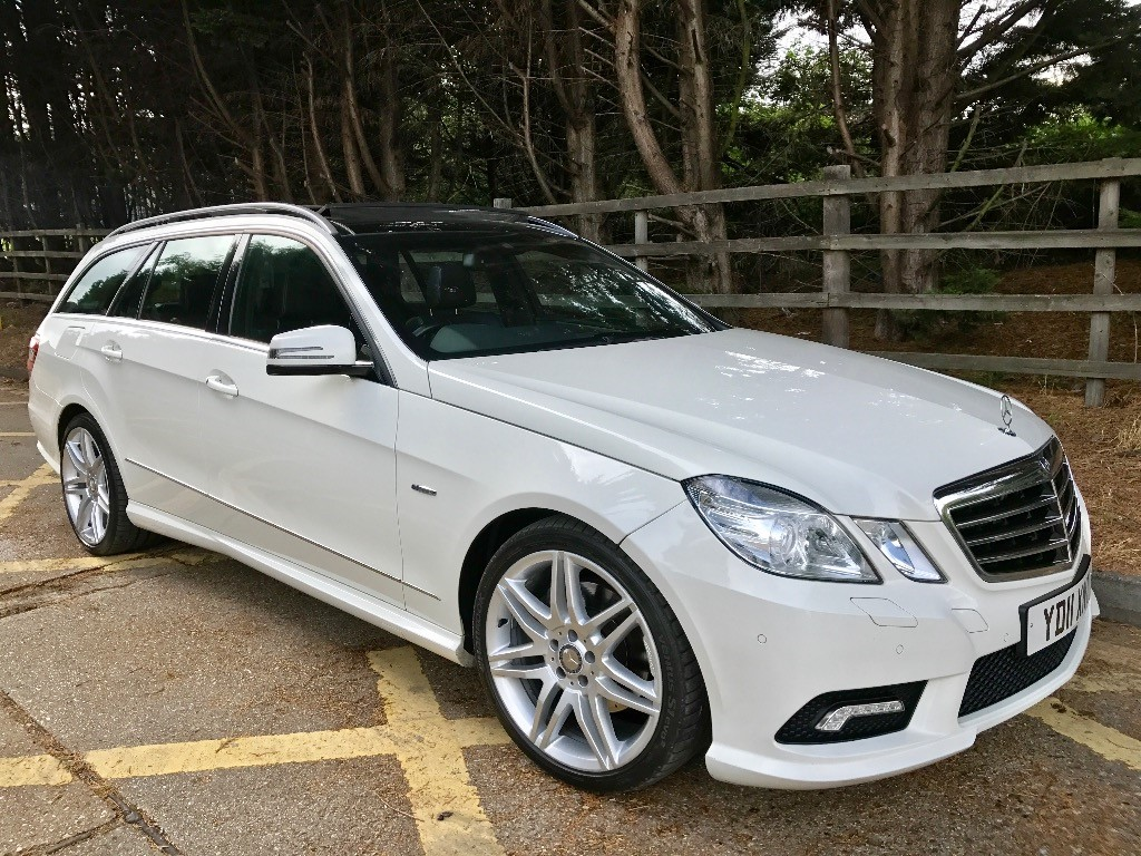 used Mercedes E350 CDI BLUEEFFICIENCY SPORT in essex