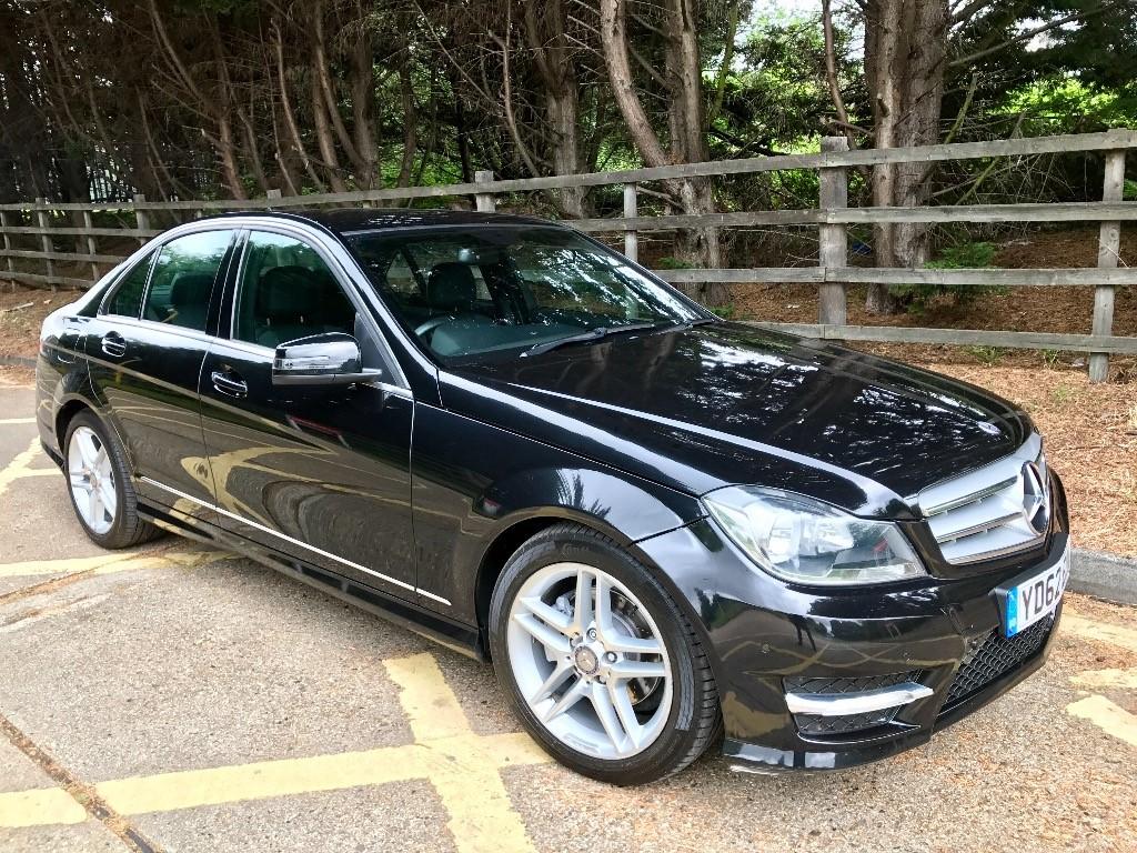 used Mercedes C250 CDI BLUEEFFICIENCY AMG SPORT in essex