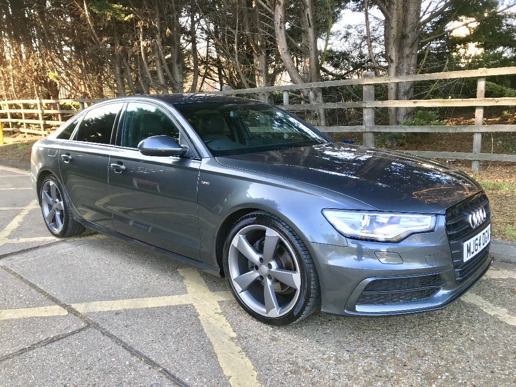 used Audi A6 TDI ULTRA S LINE BLACK EDITION in essex