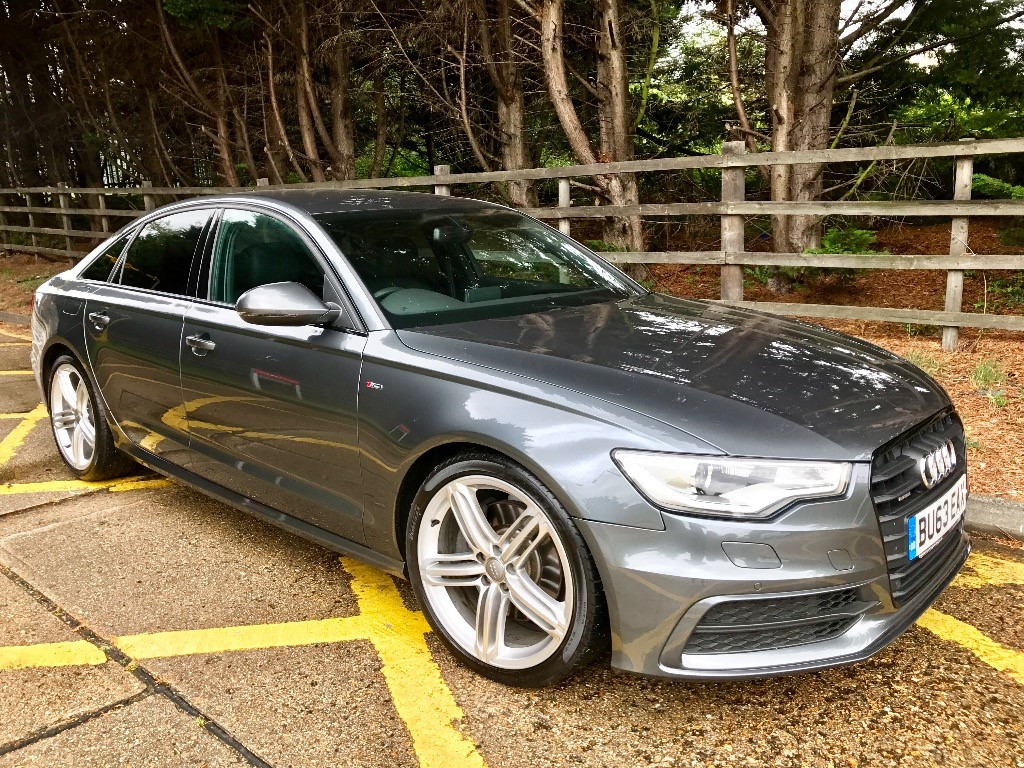 used Audi A6 3.0 245 TDI S LINE BLACK EDITION in essex