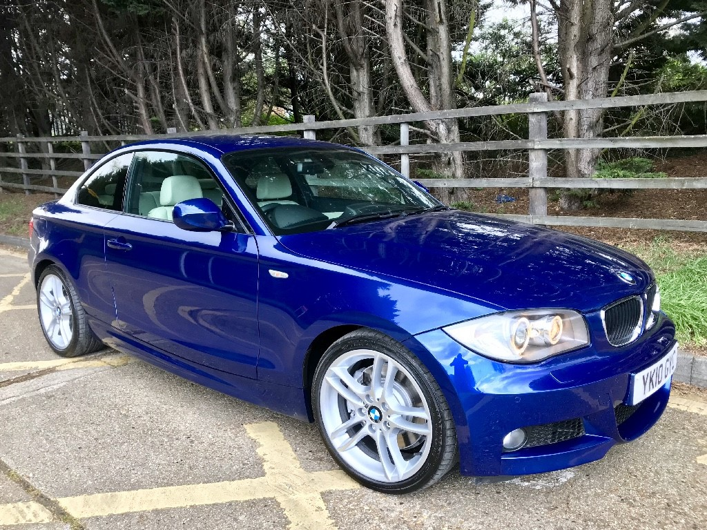 used BMW 123d M SPORT in essex