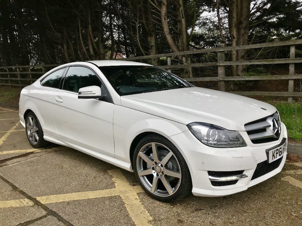 used Mercedes C220 CDI BLUEEFFICIENCY AMG SPORT ED125 in essex