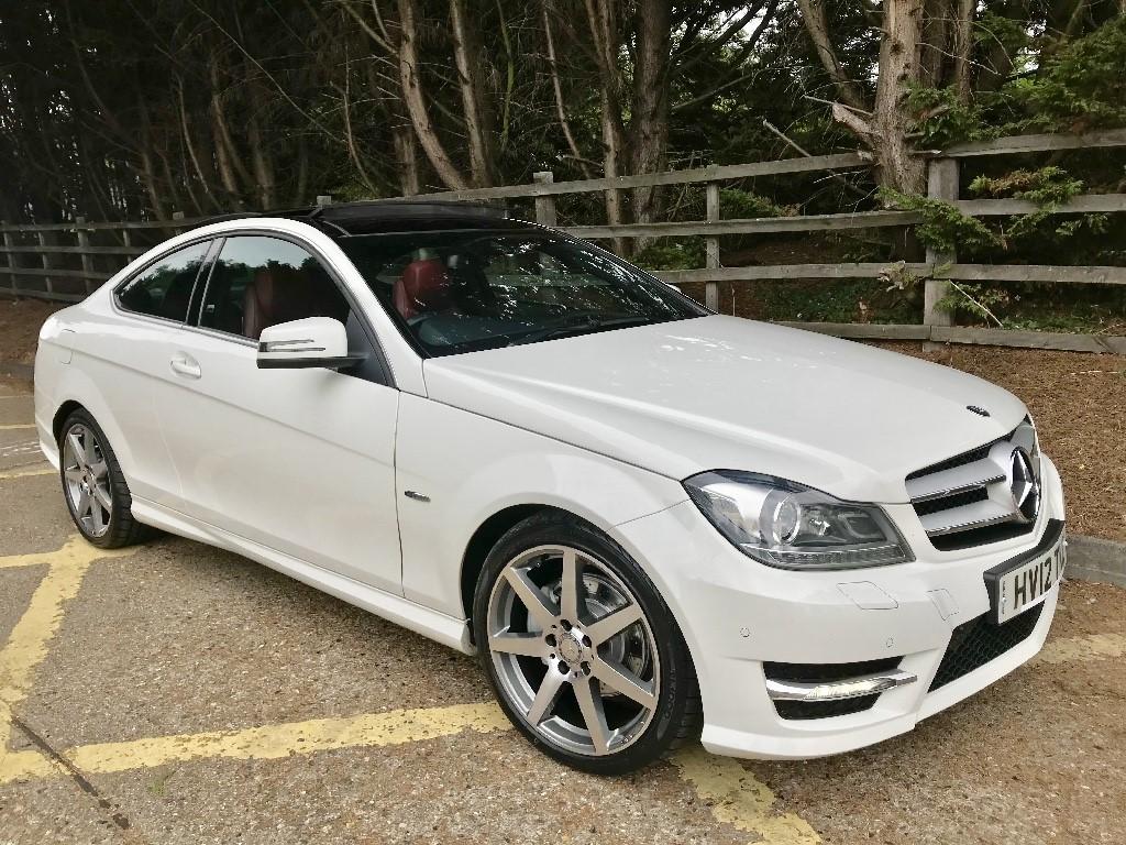 used Mercedes C220 CDI BLUEEFFICIENCY AMG SPORT in essex