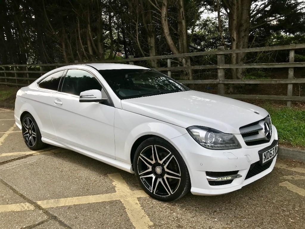 used Mercedes C220 CDI BLUEEFFICIENCY AMG SPORT PLUS in essex