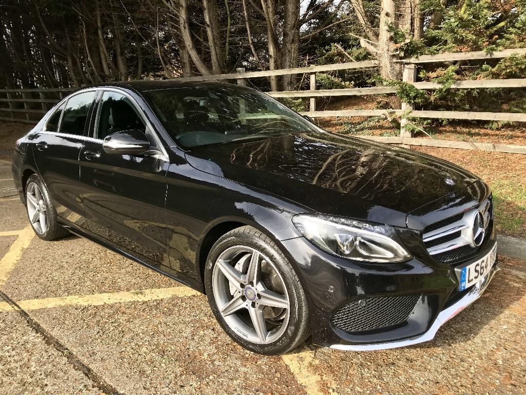 used Mercedes C220 BLUETEC AMG LINE in essex