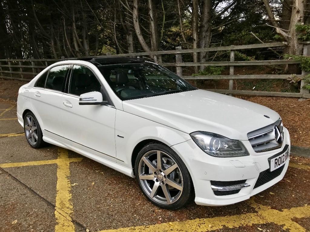 used Mercedes C220 CDI BLUEEFFICIENCY SPORT in essex