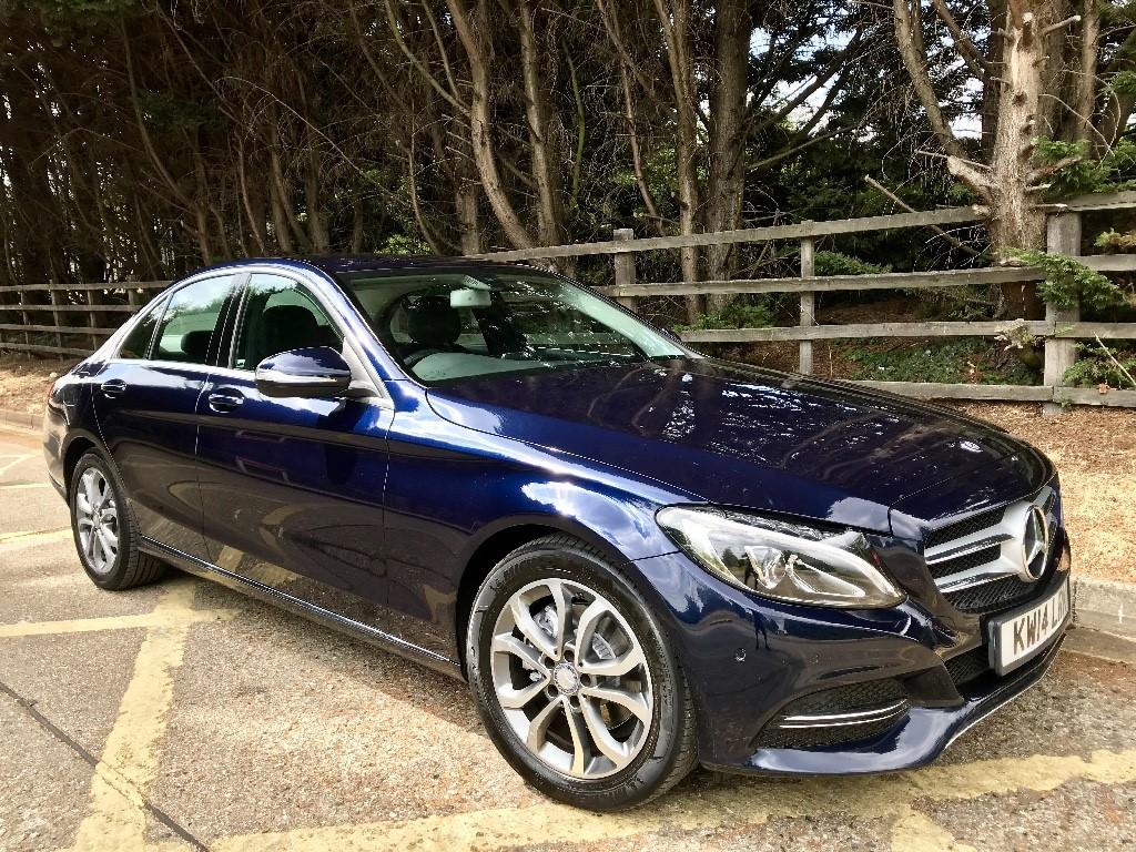 used Mercedes C220 BLUETEC SPORT in essex