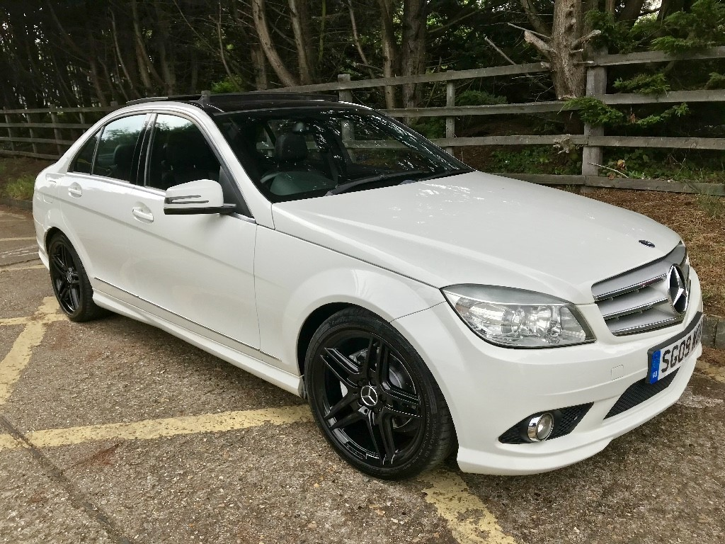 used Mercedes C220 CDI SPORT in essex