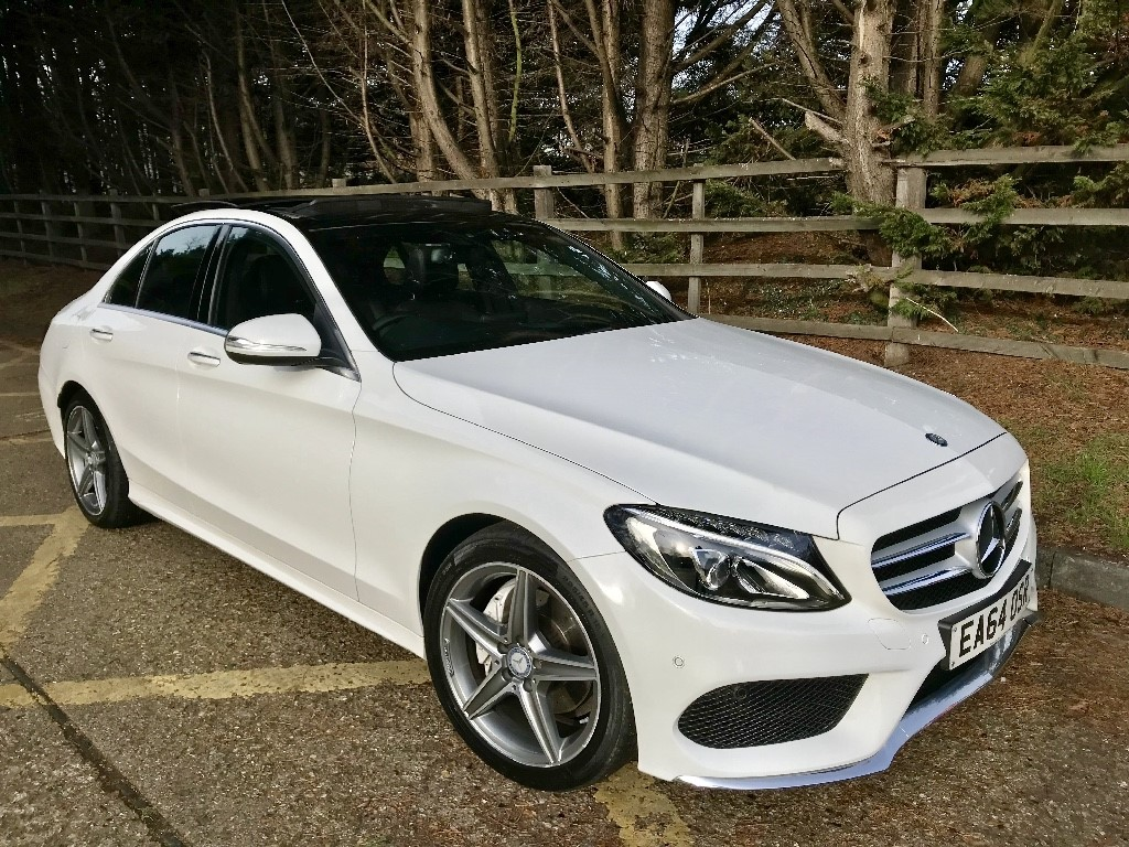 used Mercedes C220 BLUETEC AMG LINE PREMIUM in essex