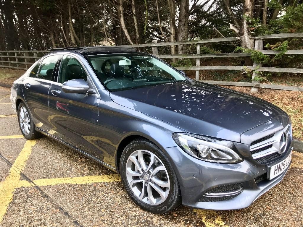 used Mercedes C220 BLUETEC SPORT PREMIUM in essex