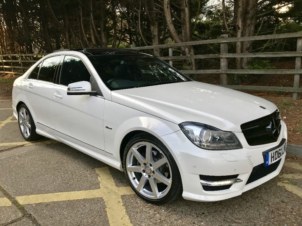 used Mercedes C250 C250 CDI BLUEEFFICIENCY SPORT ED125 in essex