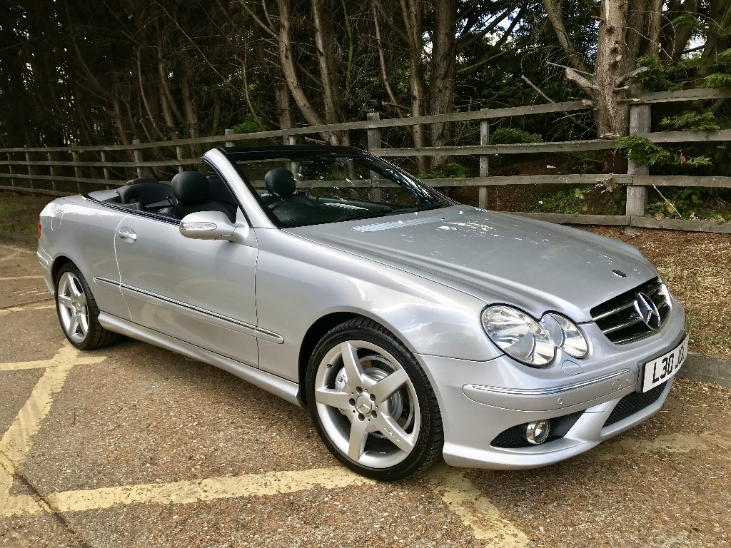used Mercedes CLK200 CLK200K SPORT CONVERTIBLE in essex