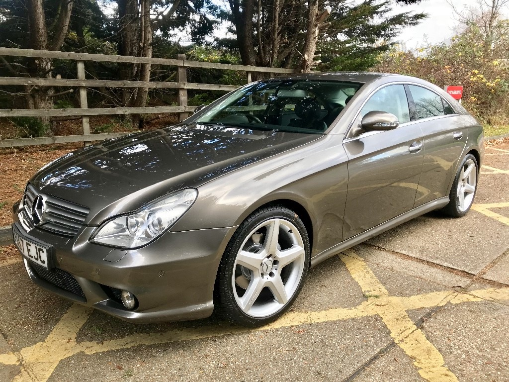 used indium grey mercedes cls320 cdi for sale essex. Black Bedroom Furniture Sets. Home Design Ideas