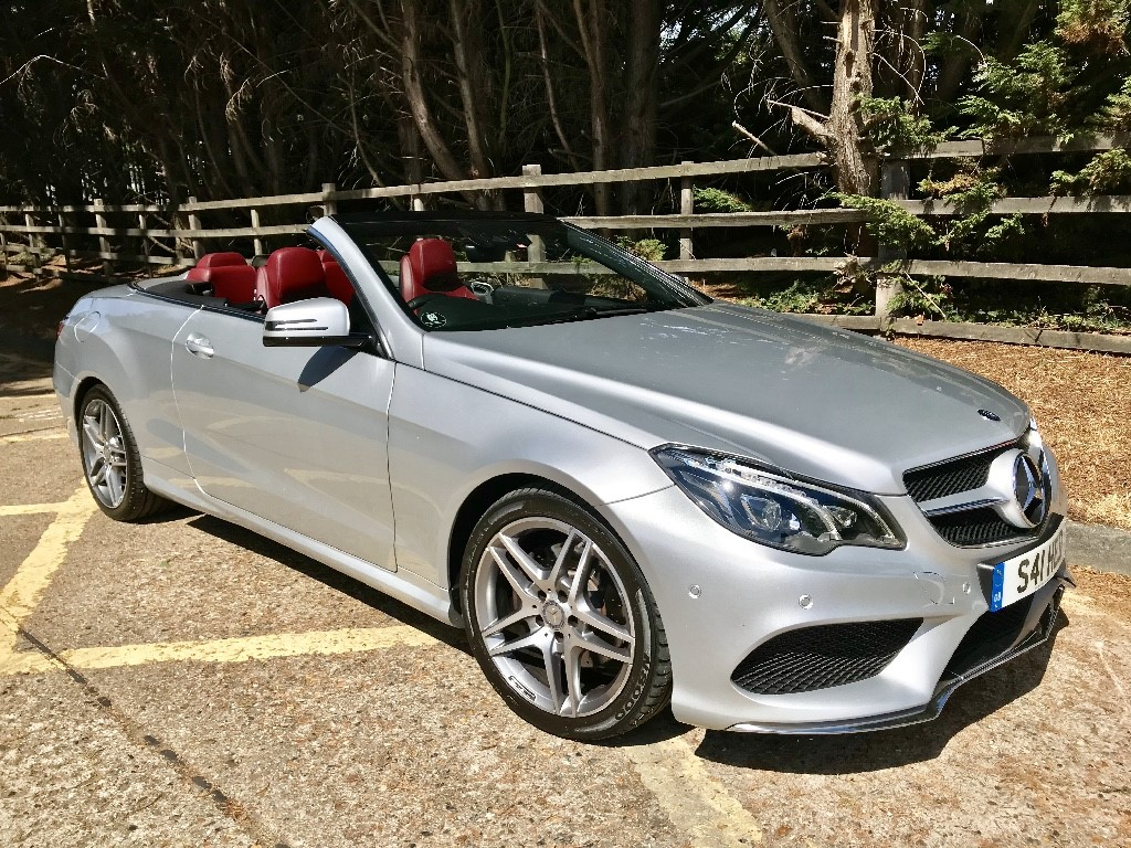 used Mercedes E250 CDI AMG SPORT in essex