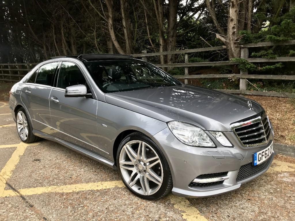 used Mercedes E250 CDI BLUEEFFICIENCY SPORT in essex