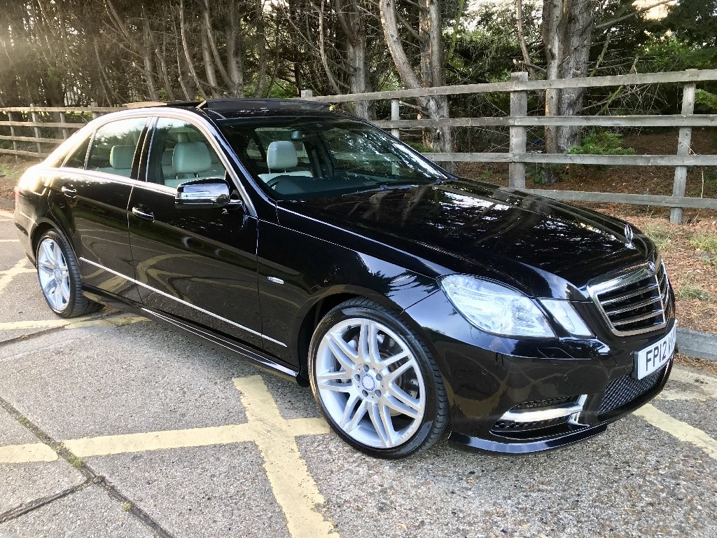 used Mercedes E350 E350 CDI BLUEEFFICIENCY S/S SPORT in essex