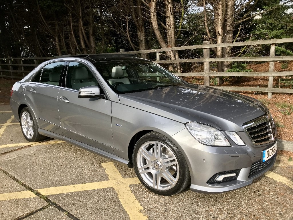 used Mercedes E350 E350 CDI BLUEEFFICIENCY SPORT in essex