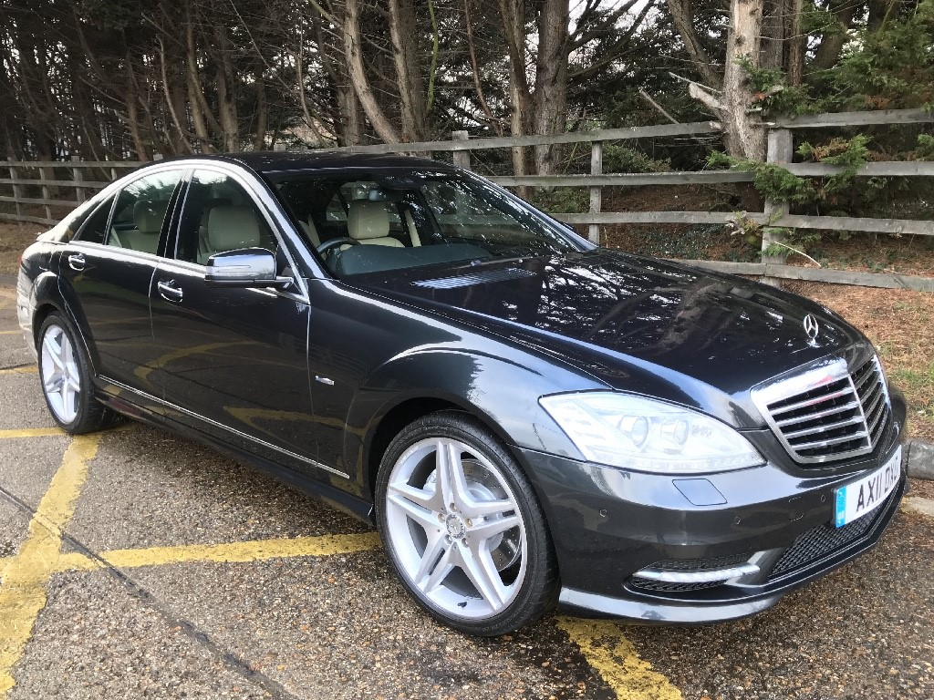 used Mercedes S350 BLUETEC in essex