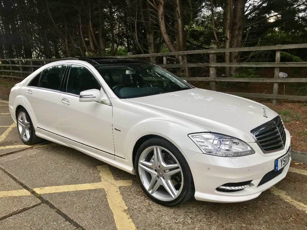 used Mercedes S350 S350 BLUETEC L in essex