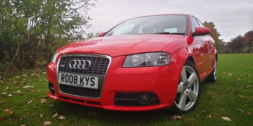 used Audi A3 TDI SPORTBACK S LINE in fife