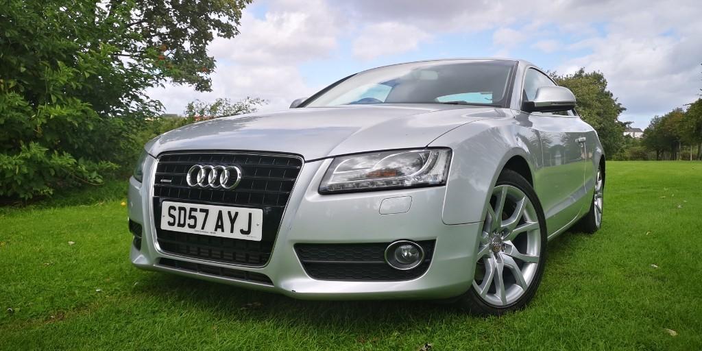 used Audi A5 TDI QUATTRO SPORT in fife