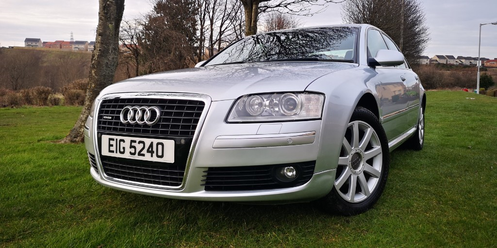 used Audi A8 TDI QUATTRO SE in fife