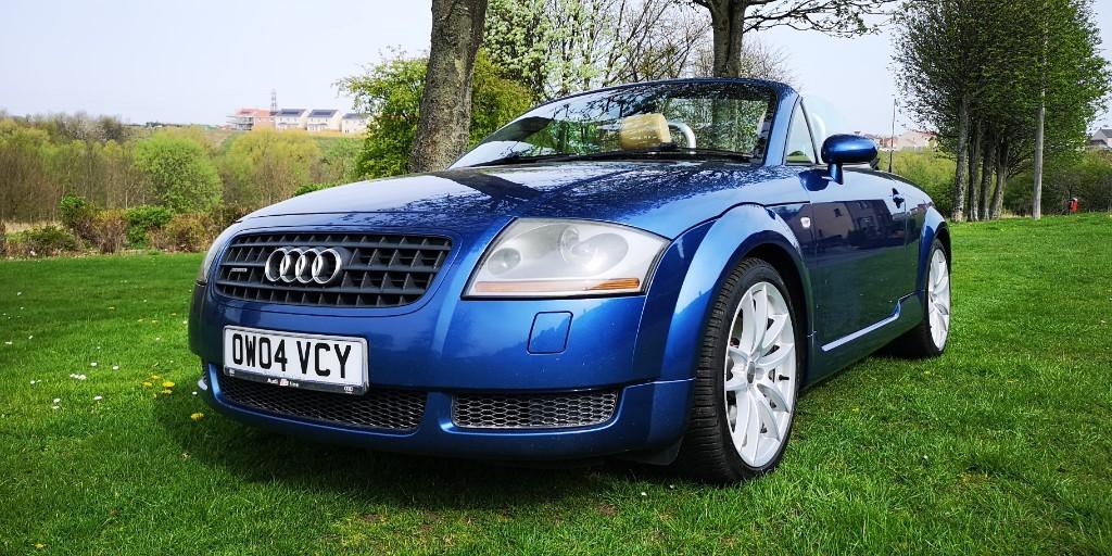 used Audi TT ROADSTER QUATTRO (225BHP) in fife