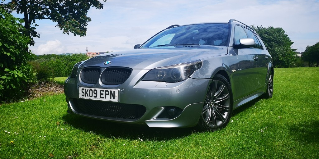 used BMW 520d M SPORT BUSINESS EDITION TOURING in fife