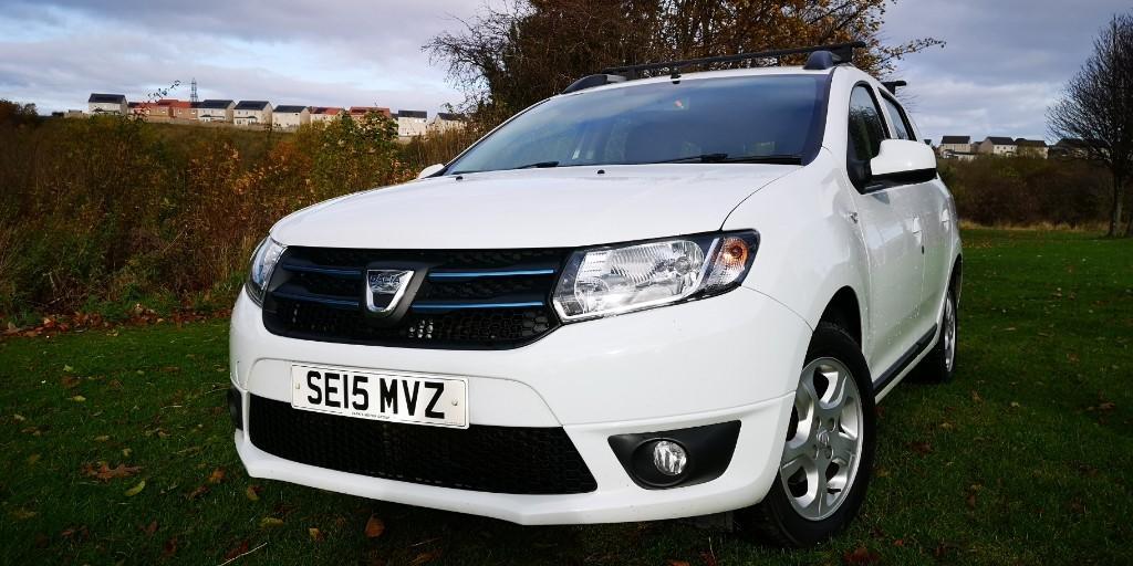 used Dacia Logan MCV LAUREATE DCI in fife