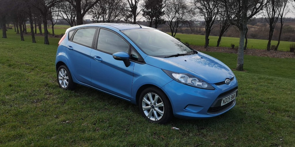 used Ford Fiesta STYLE TDCI in fife