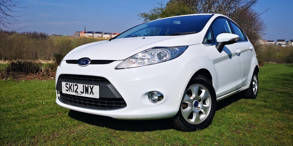 used Ford Fiesta ZETEC ECONETIC TDCI in fife