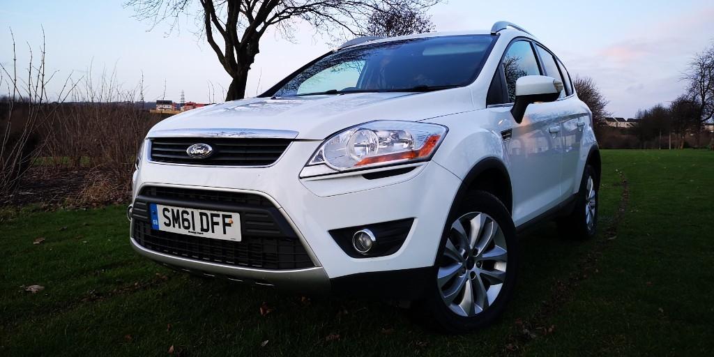 used Ford Kuga TITANIUM TDCI in fife