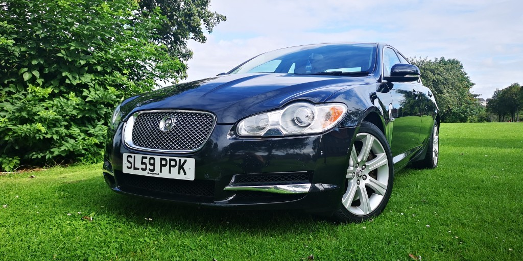 used Jaguar XF V6 LUXURY in fife