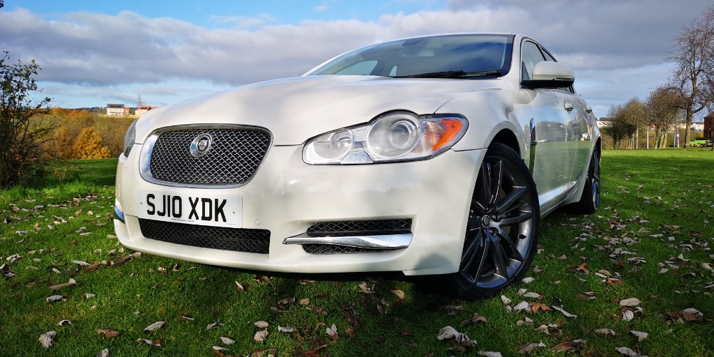used Jaguar XF V6 PREMIUM LUXURY in fife