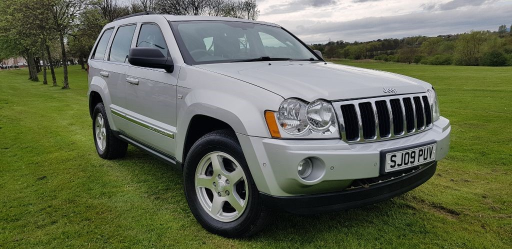 used Jeep Grand Cherokee V6 CRD LIMITED in fife