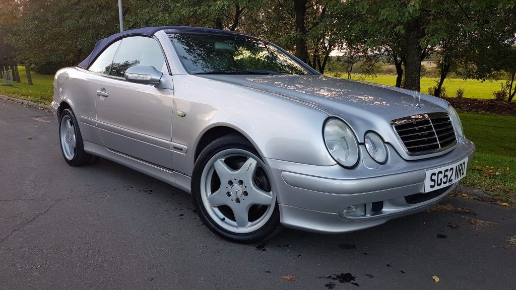 used Mercedes  CLK CLK320 ELEGANCE in fife