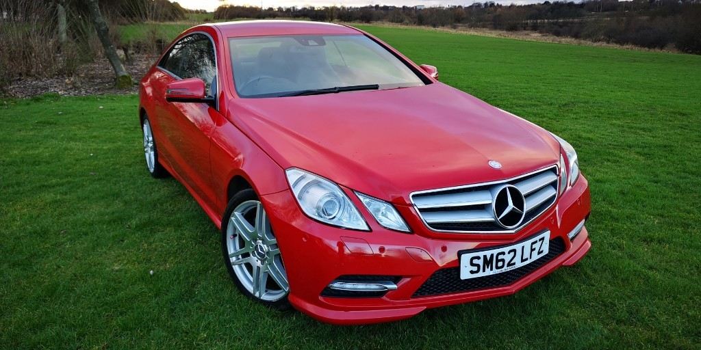 used Mercedes E220 CDI BLUEEFFICIENCY SPORT in fife