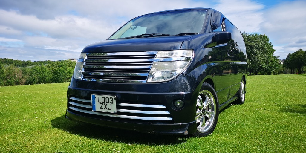 used Nissan Elgrand RIDER in fife