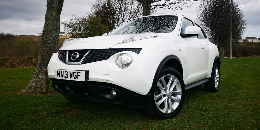 used Nissan Juke ACENTA DCI in fife