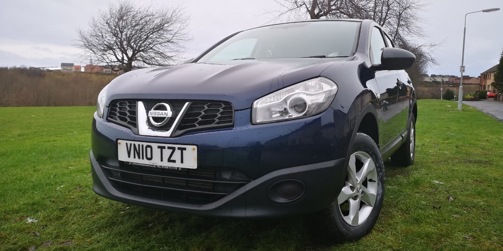 used Nissan Qashqai DCI VISIA in fife