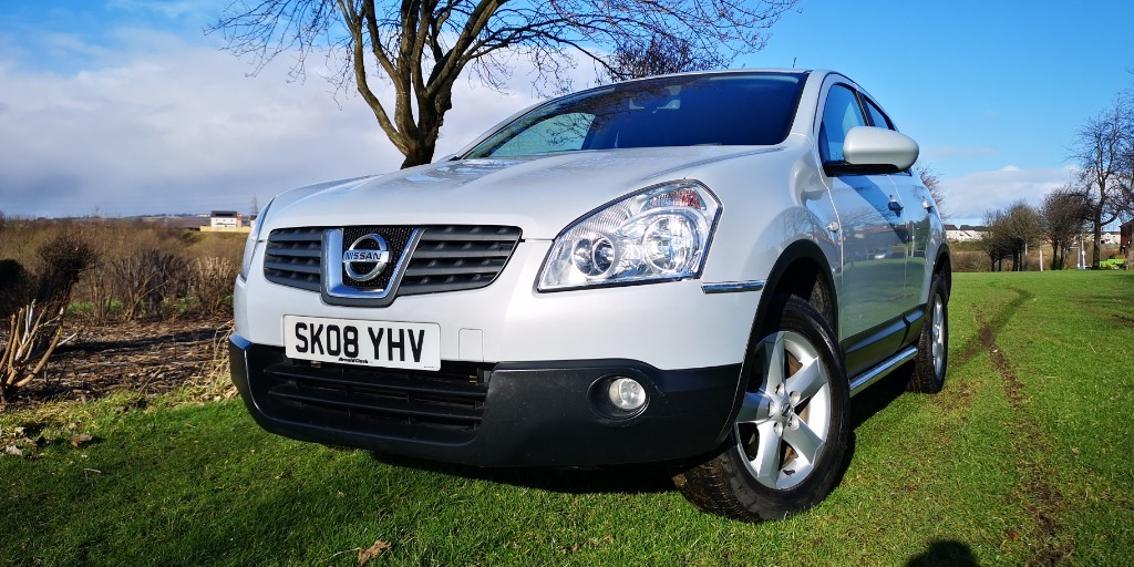 used Nissan Qashqai ACENTA DCI in fife
