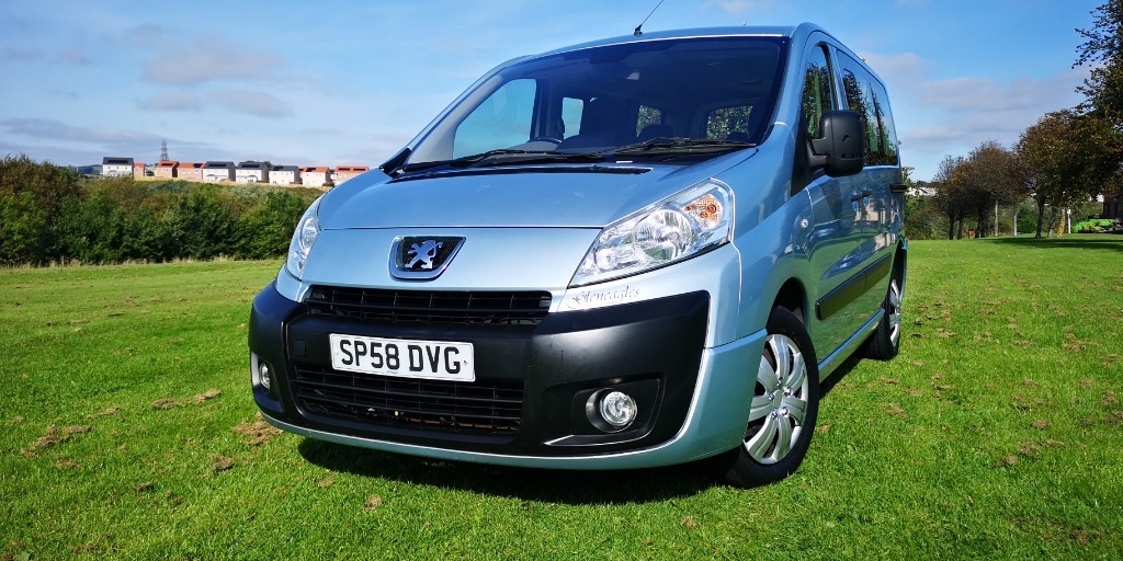 used Peugeot 1007 TEPEE LEISURE L1 HDI 120 9STR in fife