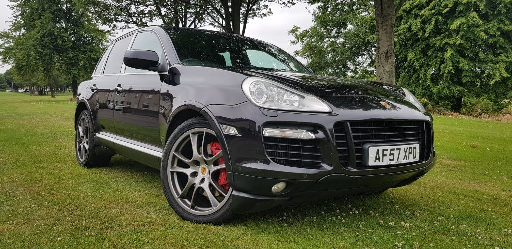 used Porsche Cayenne TURBO TIPTRONIC in fife