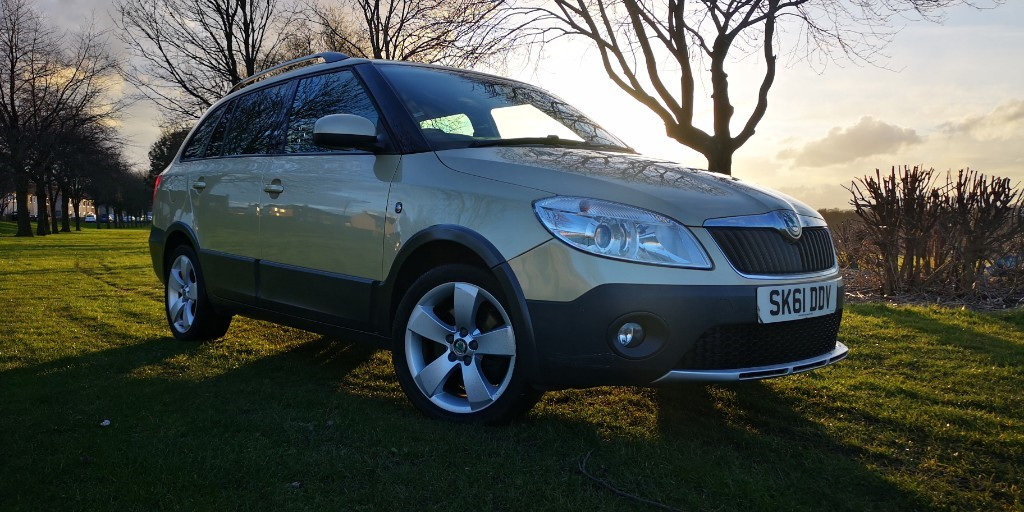 used Skoda Fabia SCOUT TDI CR in fife