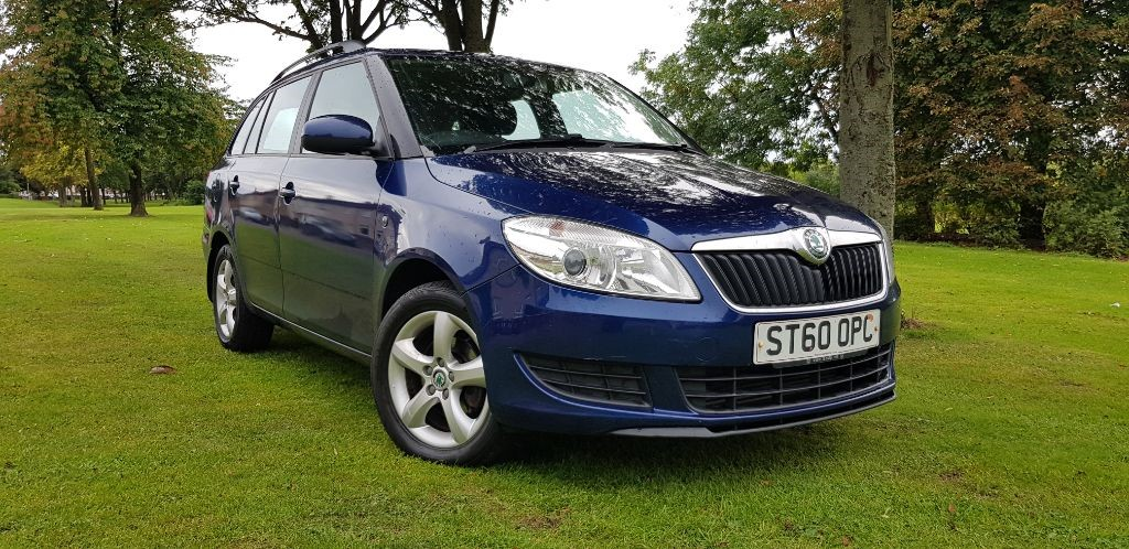 used Skoda Fabia SE TDI CR in fife
