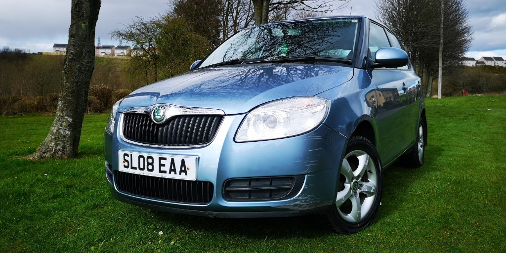 used Skoda Fabia 2 TDI 80 in fife