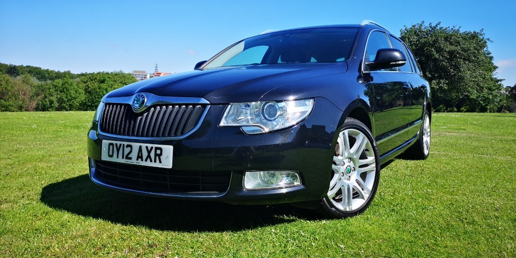 used Skoda Superb ELEGANCE TDI CR in fife
