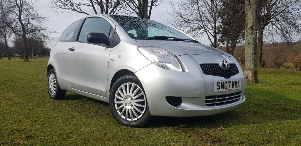 used Toyota Yaris T2 D-4D in fife
