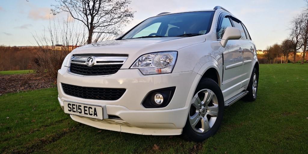 used Vauxhall Antara EXCLUSIV CDTI S/S in fife